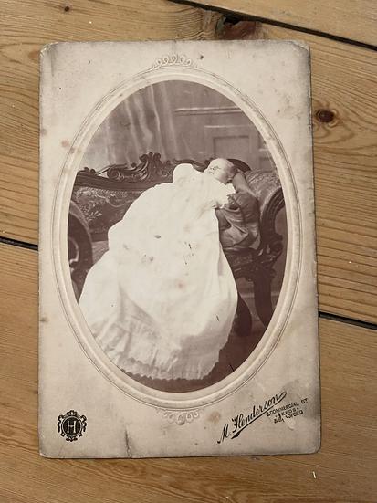 Possible Post Mortem Cabinet Card
