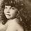 Thumbnail: Beautiful Child French Print Postcard