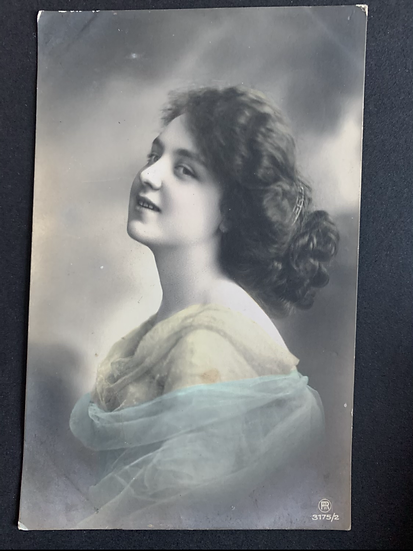 German Printed Edwardian Postcard