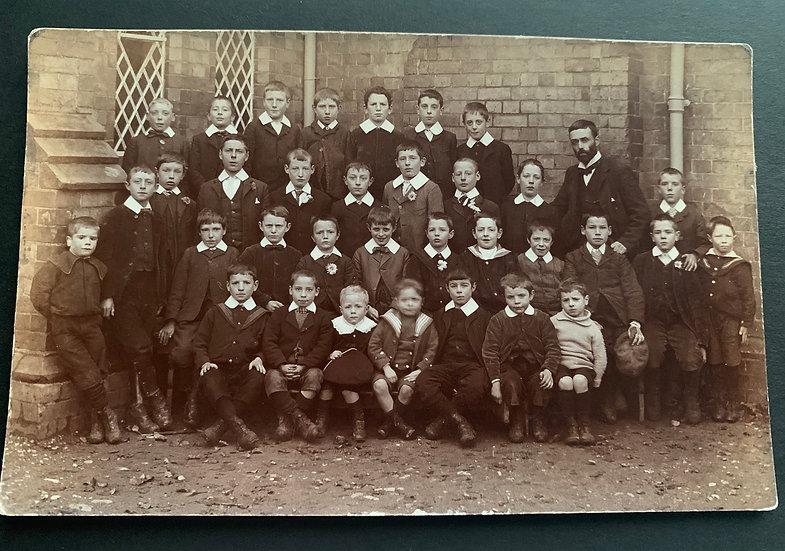 Early Edwardian School Postcard