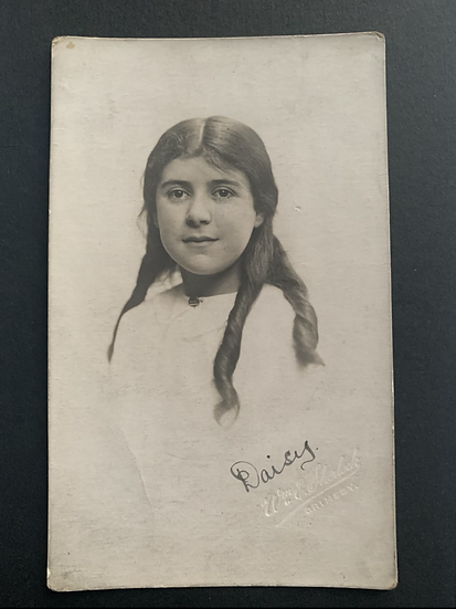 Picture Postcard of Daisy 1915