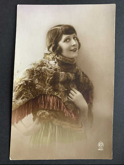 French RP Postcard