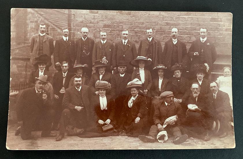 Early Edwardian Large Group
