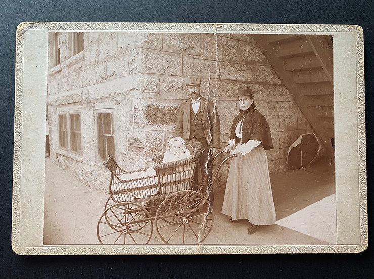 Anonymous Family Outdoors - Cabinet Card