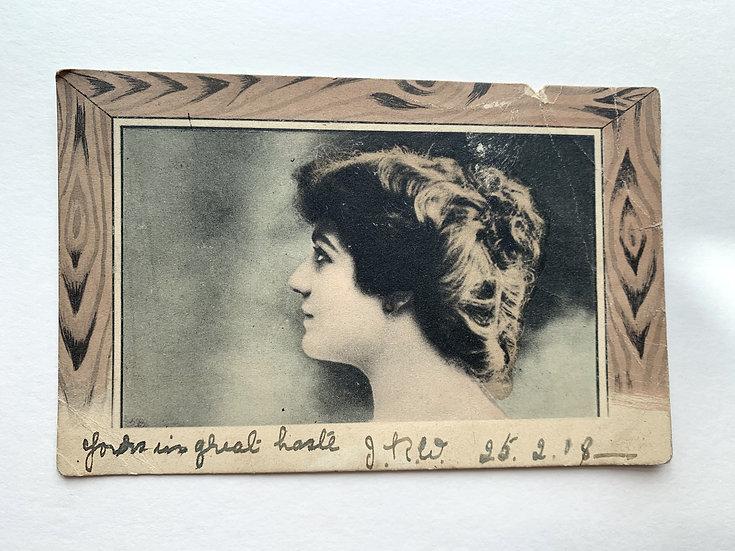 1908 Tinted Postcard