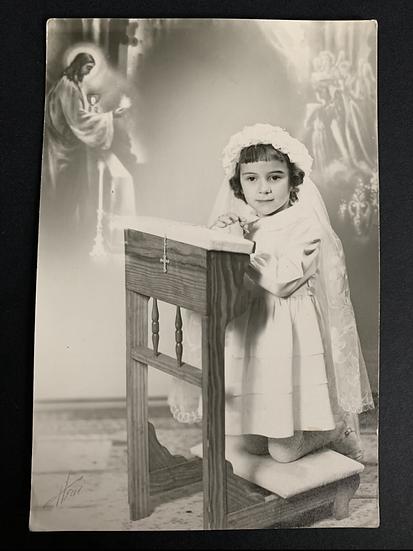 Pretty Young Girl - Communion Photo
