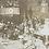 Thumbnail: Coronation Banquet rare photo postcard