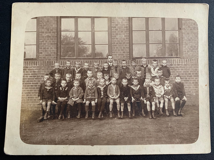 Edwardian Class Photo 1921
