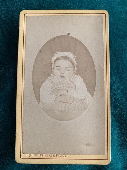 Post Mortem Child c1874