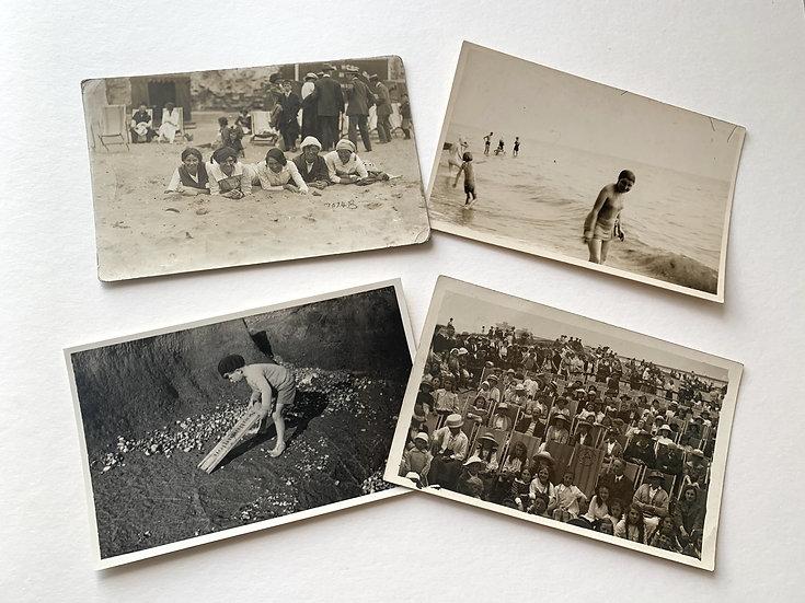 4 x English Social History - Seaside