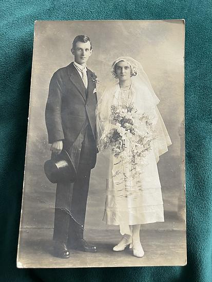 1920 Carlisle Wedding named and dated