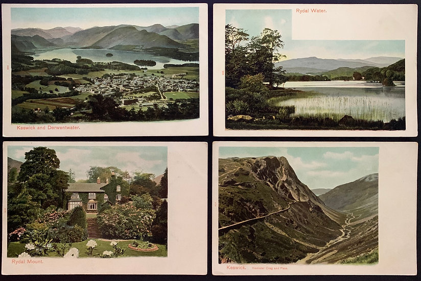 Set of Postcards English Lake District c1904