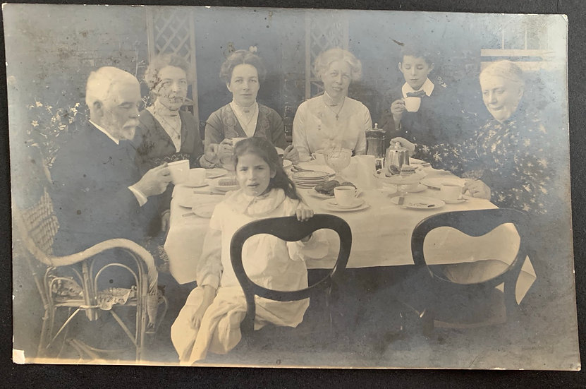 Family Tea Party 1914