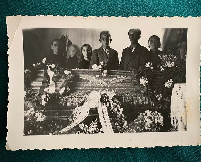 Ghostly Funeral Photograph