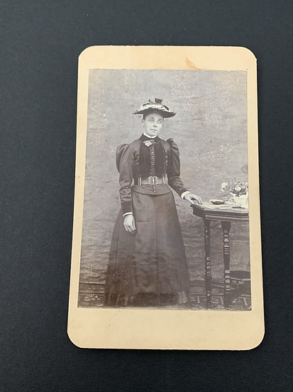 Victorian Lady with Strange Eyes