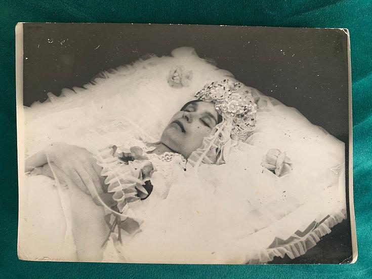Vintage USSR Post Mortem Photograph