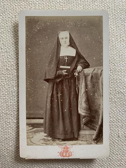 Victorian era French Nun c1875