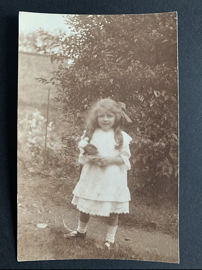 Edwardian Girl with Doll