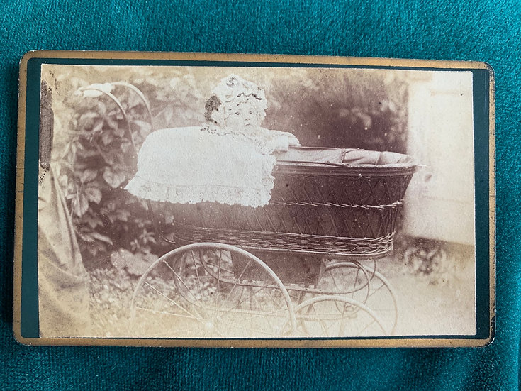 Baby in Victorian Pram