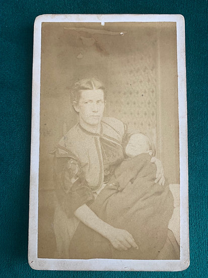 Mother Holding Post Mortem Child