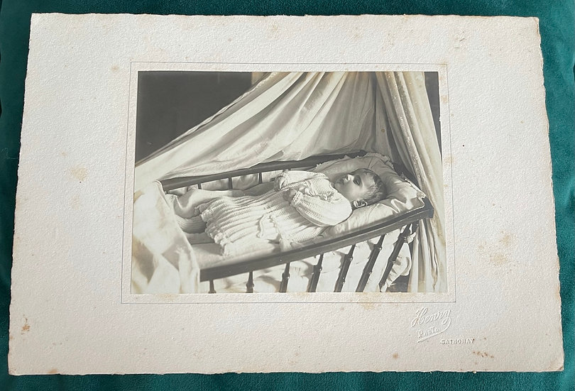 Mounted Post Mortem Photograph