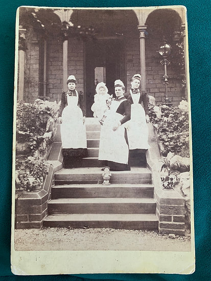 Victorian Nanny's / Housemaids Cabinet Card