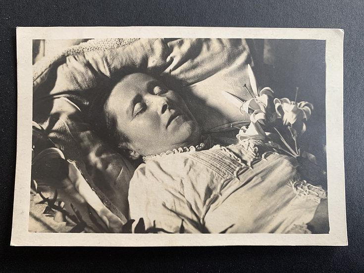 Post Mortem Memorial Card 1923