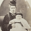 Thumbnail: Fashionable Victorian Lady and Baby