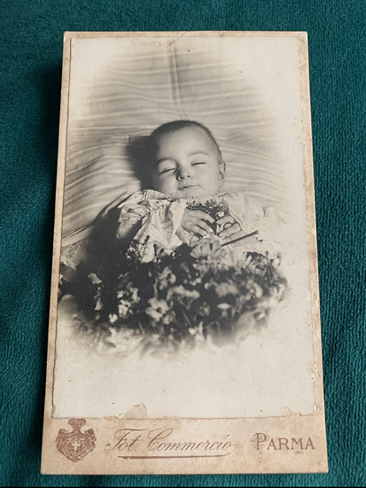 Post Mortem Baby from Italy
