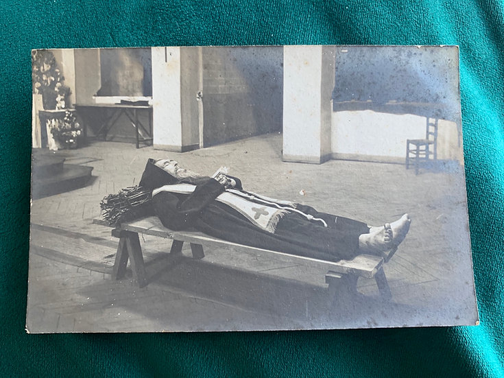 Remains of Father Antoine 1907