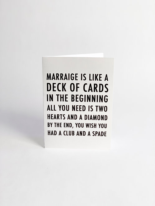 Marriage Is Like..