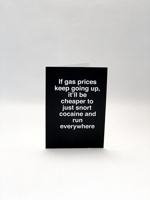If Gas Prices Keep Going Up