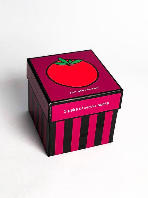 Tomato Sock 3 Pack