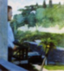 Archivio Piero Guccione_Autoritratto-nel-paesaggio-1971-ost-94x8