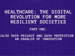 Health Data Privacy and Data Protection as an Enabler of Innovation