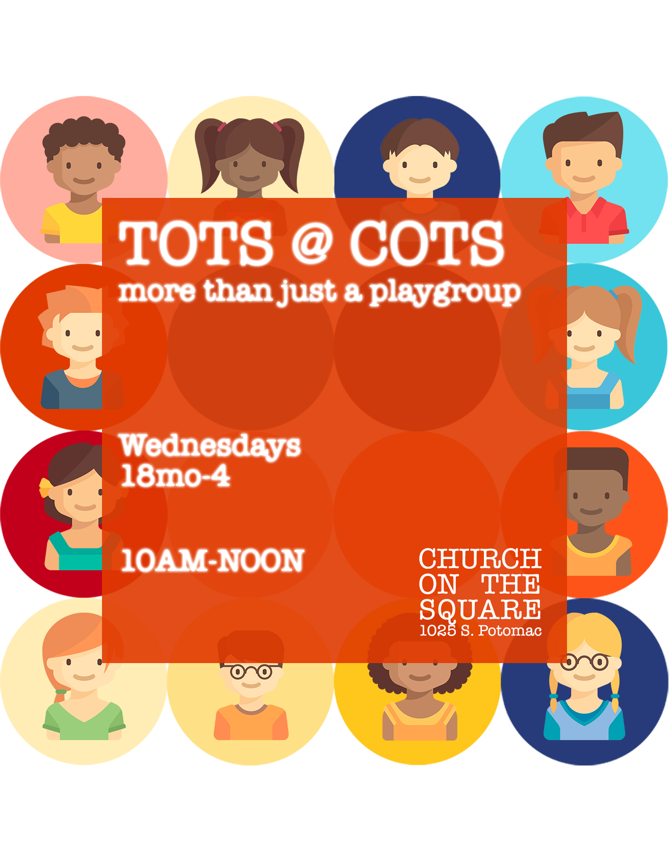 TOTS at COTS - only Wednesdays