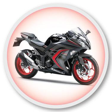 111 Motorcycle sticker (klistermärke till Freestyle Libre sensor)