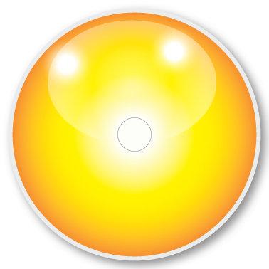 120 LS Yellow sticker (klistermärke till Freestyle Libre sensor)