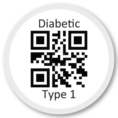 325 QR Diabetic Type 1