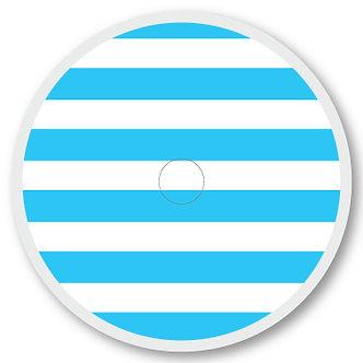 108 Blue and white stripe