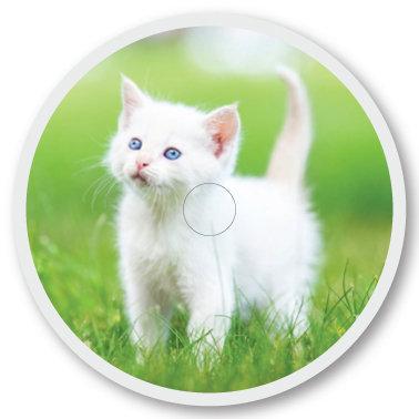 117 Cat sticker (klistermärke till Freestyle Libre sensor)