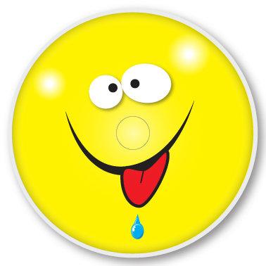 121 Happy sticker (klistermärke till Freestyle Libre sensor)