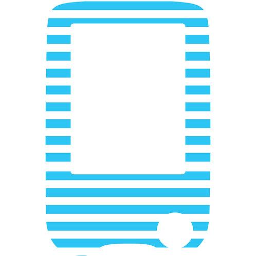 502 Blue n white stripe