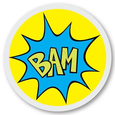 146 BAM sticker (klistermärke till Freestyle Libre sensor)