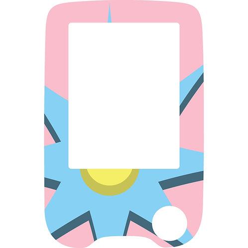 506 Pink blue reader