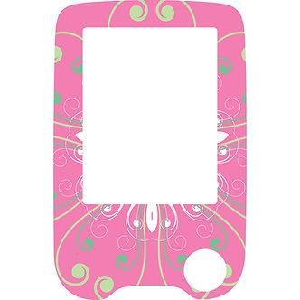 505 Pink pattern reader