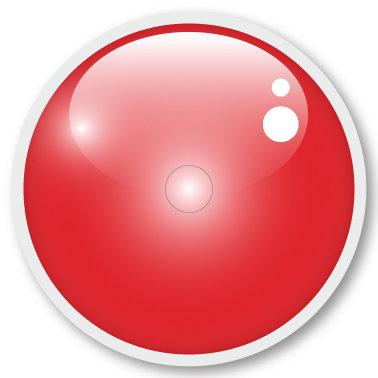105 LS red sticker (klistermärke till Freestyle Libre sensor)