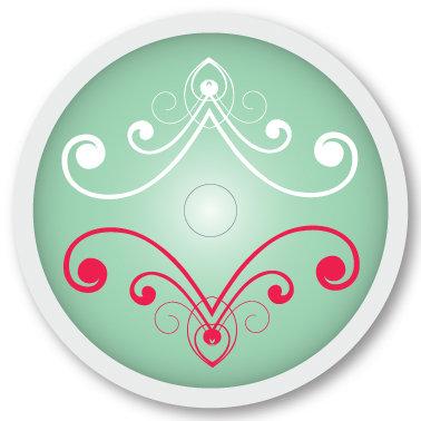 127 Calm sticker (klistermärke till Freestyle Libre sensor)