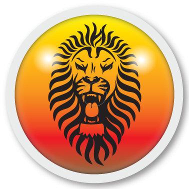 126 Lion sticker (klistermärke till Freestyle Libre sensor)