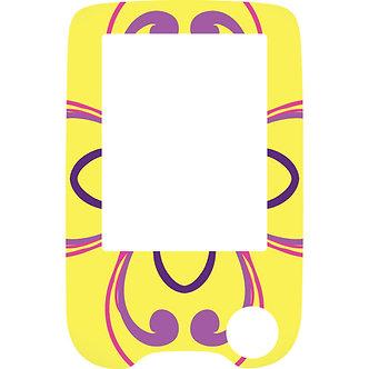504 Yellow pattern reader